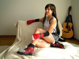 Tifa Lockhart Lounging by frankiki