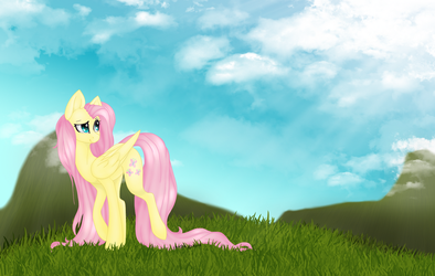 Fluttershy Open Collab By SodaPopFairyPony by ACIDtheAD