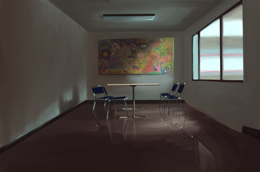 Room in UCSD by MichiSora