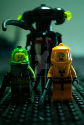 Lego Alien Horror Squid by JoshJenkins6