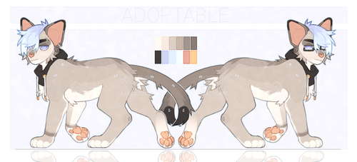 Deep Blue Sea | Adopt auction: OPEN (+AB) by ScourgeMangaStudios