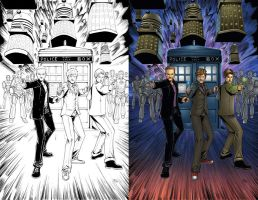 Dr. Who commission by seanforney