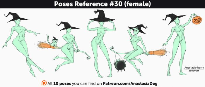 Poses Reference #30 (female) by Anastasia-berry