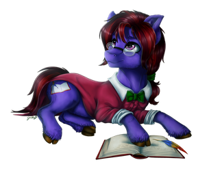 Commission Seeking Inspiration By GaelleDragons by AlmanacPony
