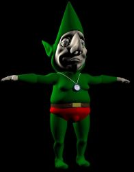 Tingle Character Model WIP by AnimateZach