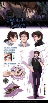 OC's REF: Joshua Raven by Kate-FoX