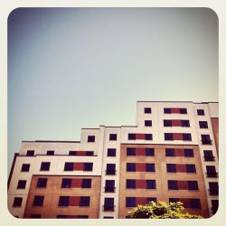 Colourful sunny Buildings by RusticBlonde