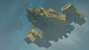 Yellow Nostromo by Drell-7
