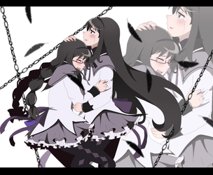 MSMM +HomuHomu+ by aidmoon