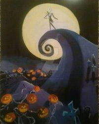 Nightmare Before Christmas by Titans-Monria