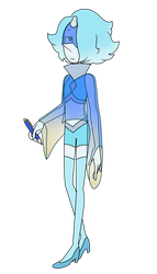 Blue Souffle Pearl by popinat