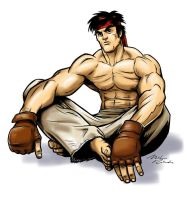 Ryu... fixed? by mikeyroberts
