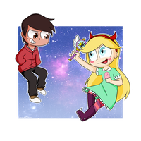 Star and Marco by CandyAICDraw