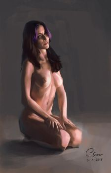 5 hour figure study by pcenero
