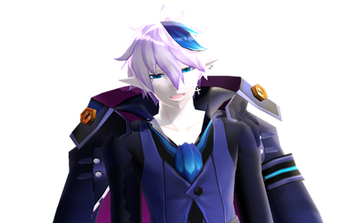 [MMD-Elsword] Look at his face :D by Darknessmagician