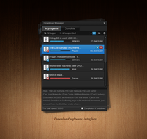 Player download interface by hileef