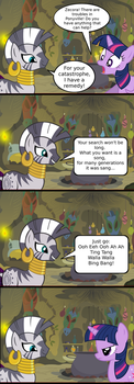 Zecora the Witch Doctor by V4NN1
