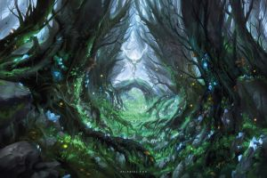 Magical Forest by Nele-Diel