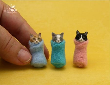 Miniature Purritos by Pajutee