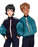 Keith and Lance [Voltron] by K3NMA