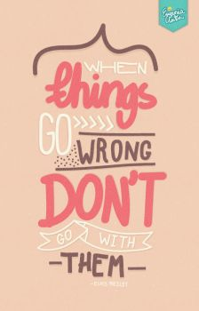 When Things Go Wrong by eugeniaclara