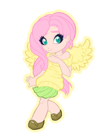 fluttershy by Desmontable