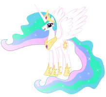 Princess Celestia by FoxTail8000