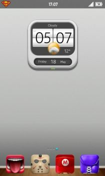 Noki clock for UCCW by lesa0208