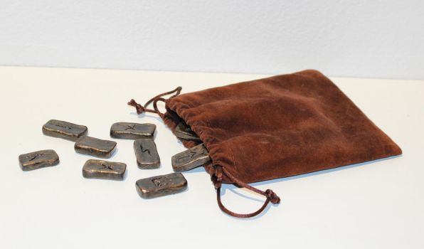 Pouch Of Runes by LimeGlass