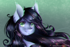 MLP OC | Moonlight Eclipse | Gift |  + Speedpaint by xKittyblue