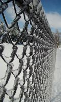 Icy Fence by GramMoo