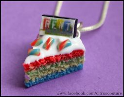 Cake collection: RENT cake charm by citruscouture