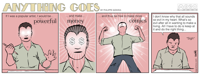 Anything Goes 036 - Power, money, comics by Quebecman