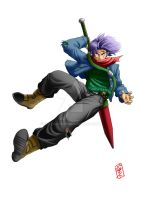 Future Trunks (DBS) by WhysoGurin