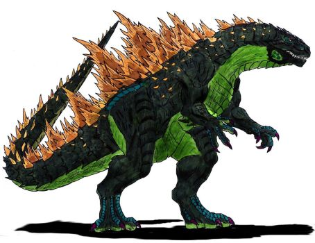 Legendary Godzilla by Dino-master