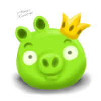 The Crown Pig by RiverKpocc