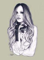 Leighton Meester by dasidaria-art