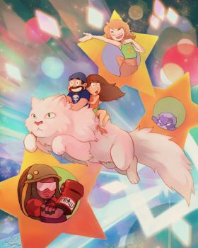 Super Best Friends Universe! by Remainaery