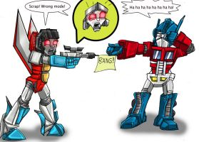 Transformers error by MikeOrion