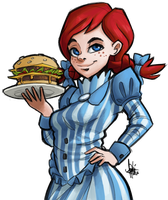 Wendy's by TheArtrix