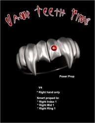VampTeethRing Prop by inception8-Resource