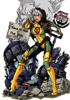 Rogue by MikeKArt