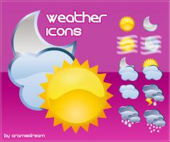 Weather Icons by Aramisdream
