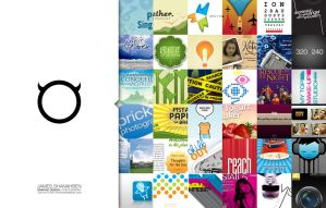 Folio Card - Graphic Design by shanahben