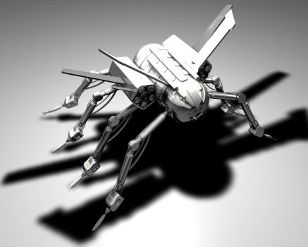 Spider project - final by ZeroniX-Designs