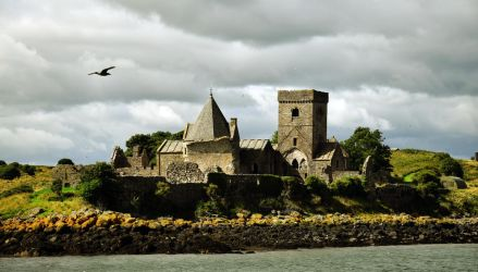 Inchcolm Abbey by JanKacar