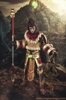Wukong, the Monkey King - LEAGUE OF LEGENDS (II) by ExionYukoCosplay