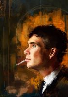 Tommy Shelby by WisesnailArt
