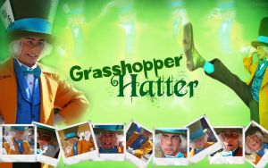 Grasshopper Hatter by margflower