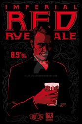 IMPERIAL RED RYE ALE concept by SataFLASH